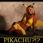 Hot blonde pikachu