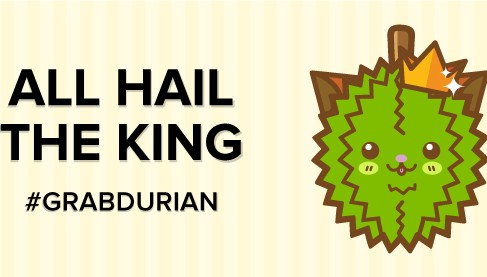 Grabtaxi : Grabdurian Promo, Maoshanwang delivered to your door
